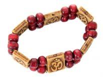 Extendable plastic beads bracelet<br> Sold Per Dozen