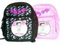 Betty Boop Nylon XL Backpack Cheer leader