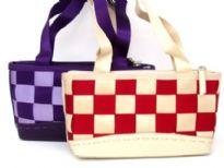 Poly weave Handbag