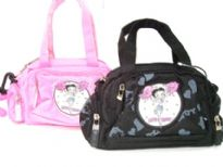 Betty Boop Nylon mini satchel