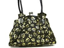 Printed PVC fashion Handbag.