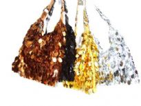 Hand Beaded Sequin Bag
