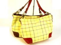 Designer Inspired PVC Handbag