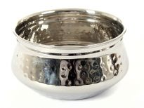 Stainless steel single wall 5.25 inches (500 ml)Moroccan dish Bowl. Made in India