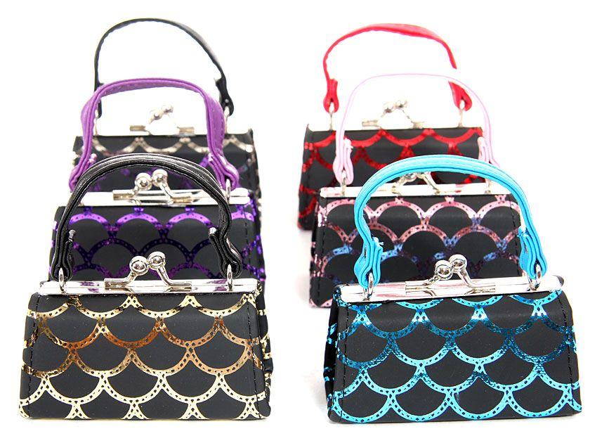 Wholesale Handbags Mp049 Assorted Color Mini Coin Purse