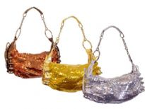 Metallic Sequin Handbag