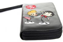 I Love Lucy licensed double all round zipper organizer cum wallet