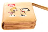 I Love Lucy licensed PVC all round zipper organizer cum wallet