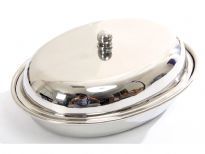 Stainless Steel Oval Dish