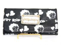Betty Boop check book wallet