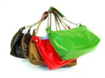 Soft Leather Look Handbag with