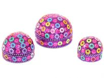 3 Pieces set of Decorative Pill Boxes