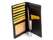 Genuine Leather superior quality travel documents cover wallet