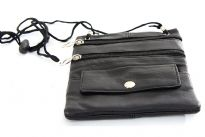 Genuine leather pouch.