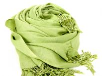 Rayon Pashmina shawl with beaded fringes