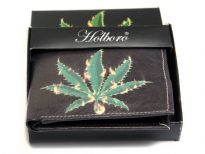 Marijuana Print bi-fold men wallet