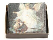 Angel Print bi-fold men wallet
