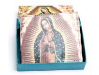 Virgin Mary Print Bi-fold men wallet