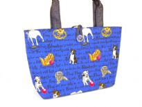 Dog Picture Denim Bag<br>Made in USA
