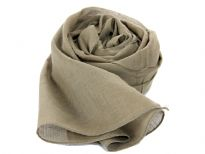 100% cotton solid color scarf