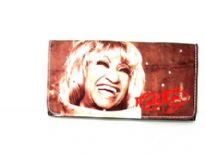 Queen of Salsa Celia Cruz Wallet made with PU (Polyurethane).