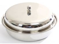 Stainless Steel Round Dish