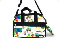 Betty Boop comic 4way zip bag