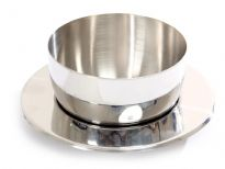 Stainless Steel Soup Bowl with Plate