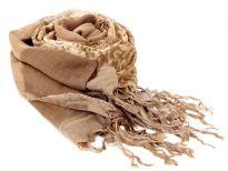 100% viscose printed scarf