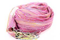 100% viscose open weave scarf