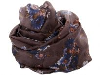 Pure Silk printed square scarf