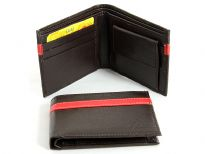 Bifold Synthetic Leather Men Wallet