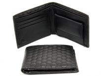 Bi-fold synthetic Leather wallet