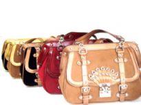 Swede PU Handbag