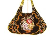 Hand Beaded Evening Bag