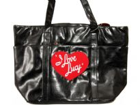 PVC I Love Lucy Shoulder Bag
