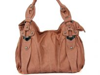 PU Double Handle Fashion Handbag