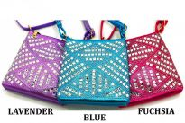 Cross body bags with Rhinestones