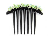 Plastic Hair clip with stones