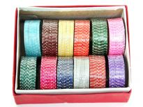 Assorted Colors Plastic Bangles<br> Sold Per Box containing 12 Dozens