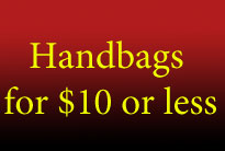 Handbags & Wallets for $10 or less