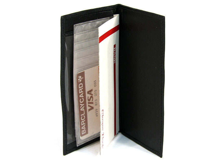 leather checkbook cover. Genuine Leather Check BOOK